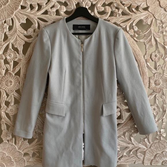 Zara Jackets & Blazers - Blue Zara Basic Blazer